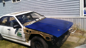 1990 Nissan cefiro caged rolling shell.