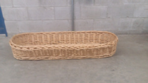 Wicker basket 40.00