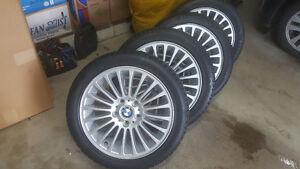 "ORIGINAL 17"" BMW Winter Tire Package 225/45/R17"