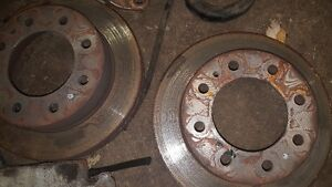 front calipers brake pads and rotors London Ontario image 1