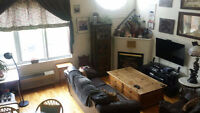 Spacious Atwater loft for October 1st, 1,200$/month
