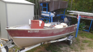 Perfect fishing boat Lund  14ft