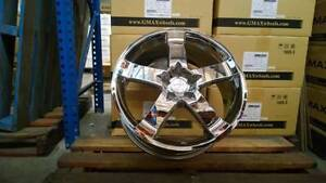 "(Ford Territory, Falcon) G.MAX 20"" CHROME Wheels & Tyres Mitcham Whitehorse Area Preview"