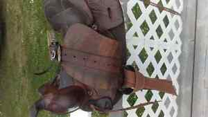 Western saddle for sale-Can bring to PG Dec3rd Prince George British Columbia image 5