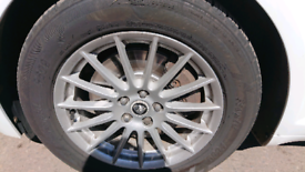Jaguar xf alloy wheels