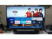 "Jvc 40"" fire edition 4K Smart Television"