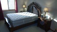 Queen Mahogany Bedroom Suite