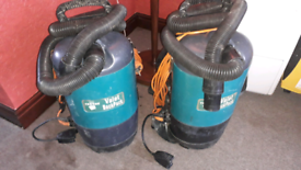 Truvox valet backpacks in good condition vacuum units only