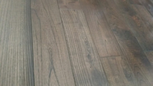 NAF  Pagoda Charcoal Wire Brushed Handcrafted Hardwood Flooring