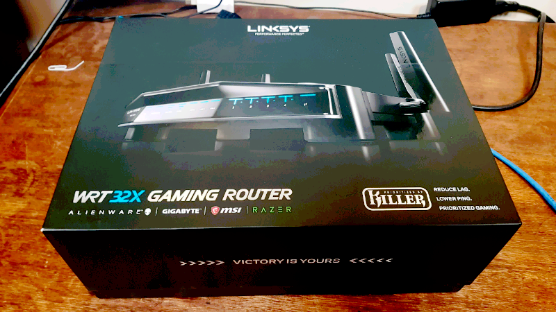 WRT 32X wireless gaming router | Modems & Routers | Gumtree