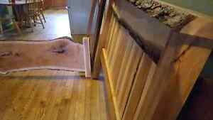 Queen Size Live Edge Cherry Bed Frame    London Ontario image 2