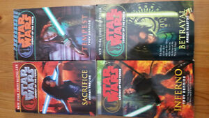 Star Wars novels bundle #5