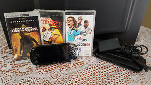 Sony PSP c/w 3 games and one movie ...