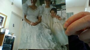 Princess Wedding Gown and Veil with Accessories - Reduced Peterborough Peterborough Area image 2