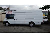 GREAT CHOICE OF EXTRA LONG VANS,JUMBO TRANSITS,MERCEDES 4.1 METRE VANS,CRAFTER,