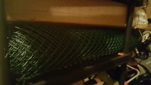 2, 50ft Rolls of Green Fencing - Diamond Pattern - Used once