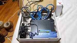Linksys wireless-G broadband router 2.4GHz 54mbps