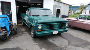 Pick-up Ford F-250 Custom 1967