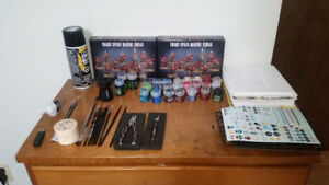 Citadel / Warhammer 40k Miniatures and supplies collection