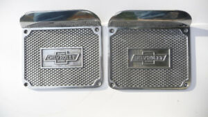 CHEVY BOW TIE STEP PLATES BY VINTAGE