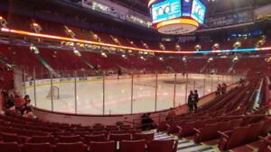 REDUCED! 2 Tickets - Vancouver Canucks - Lower Bowl Row 9