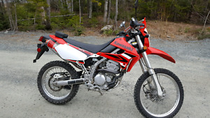 2009 klx 250 street and trail