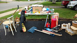 Welland Garage Sale everything dirt cheap - save from the landfi