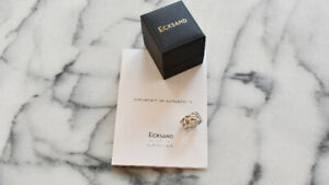 ECKSAND Sterling Silver Ring - Size 5