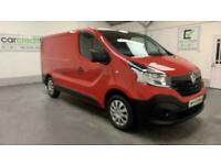 RED RENAULT TRAFIC VAN 1.6 SL27 BUSINESS DCI DIESEL *FROM £322 PER MONTH*