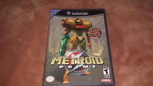 For sale, metroid prime GameCube game,complete.