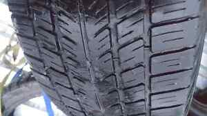 Set of 4 BFGoodrich Traction T/A Winter Tires P225/55R17 Kingston Kingston Area image 1