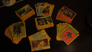 "Vintage ""Star Wars/Empire Strikes Back"" trading cards(139 total)"