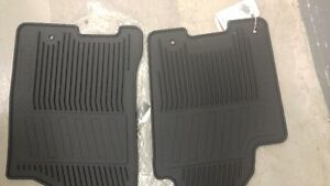 NEW FRONT RUBBER FLOOR MATS FOR NISSAN TITAN