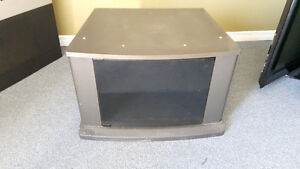 TV Stand and portable table on wheels