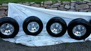 1/2 TON TIRES AND RIMS