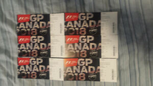 Two tix for Montreal Grand Prix --- F1