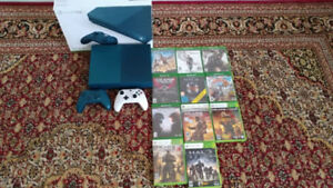 XBOX ONE S MINT + Extra Controller + 11 Games