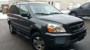 2005 Honda Pilot LX SUV Crossover Comes Safety And E-Tested