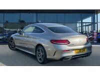 2020 Mercedes-Benz C-CLASS C200 AMG Line Premium 2dr 9G-Tronic Petrol Coupe Auto