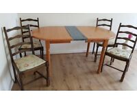 Dining Table And 4 Chairs For Sale Collection From Norwich Hellesdon 20