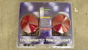 BRAND NEW *** Magnetic TOW LIGHTS & Curt Taillight Converter Kit