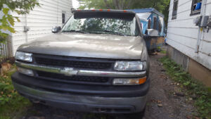 Chev truck and camper for sale 3700 obo