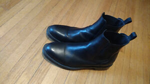 Leather Chealsea Boots Italian Made