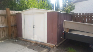 10'x8' steel shed
