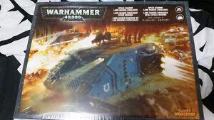 Warhammer 40k space marines troops has land raider