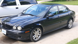 2002 Jaguar X Type four-door sedan