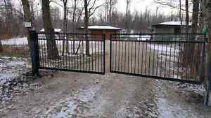 Driveway Gates, Handrail, Fencing  Strathcona County Edmonton Area image 1