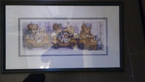 Laura Berry Teddy's Express limited edition print Kitchener / Waterloo Kitchener Area image 1