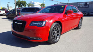2017 Chrysler 300 S All Wheel Drive LOADED 25,000 KMS