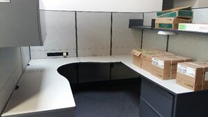 Teknion Systems Furniture - 5 Cubicles/Stations Kitchener / Waterloo Kitchener Area image 1